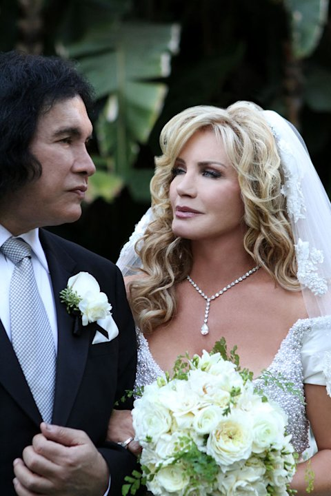 Gene Simmons and Shannon Tweed on &quot;Gene Simmons Family Jewels.&quot; 