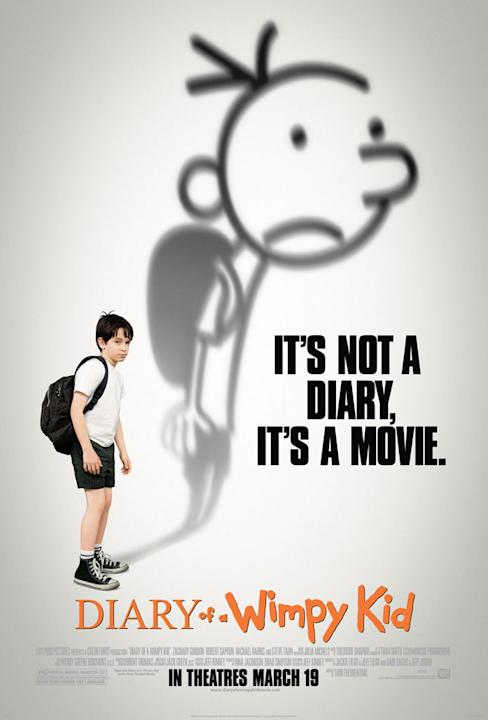 Diary of a Wimpy Kid 20th Century Fox 2010 poster