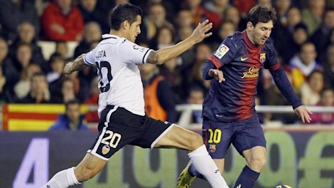 Video: Valencia vs Barcelona