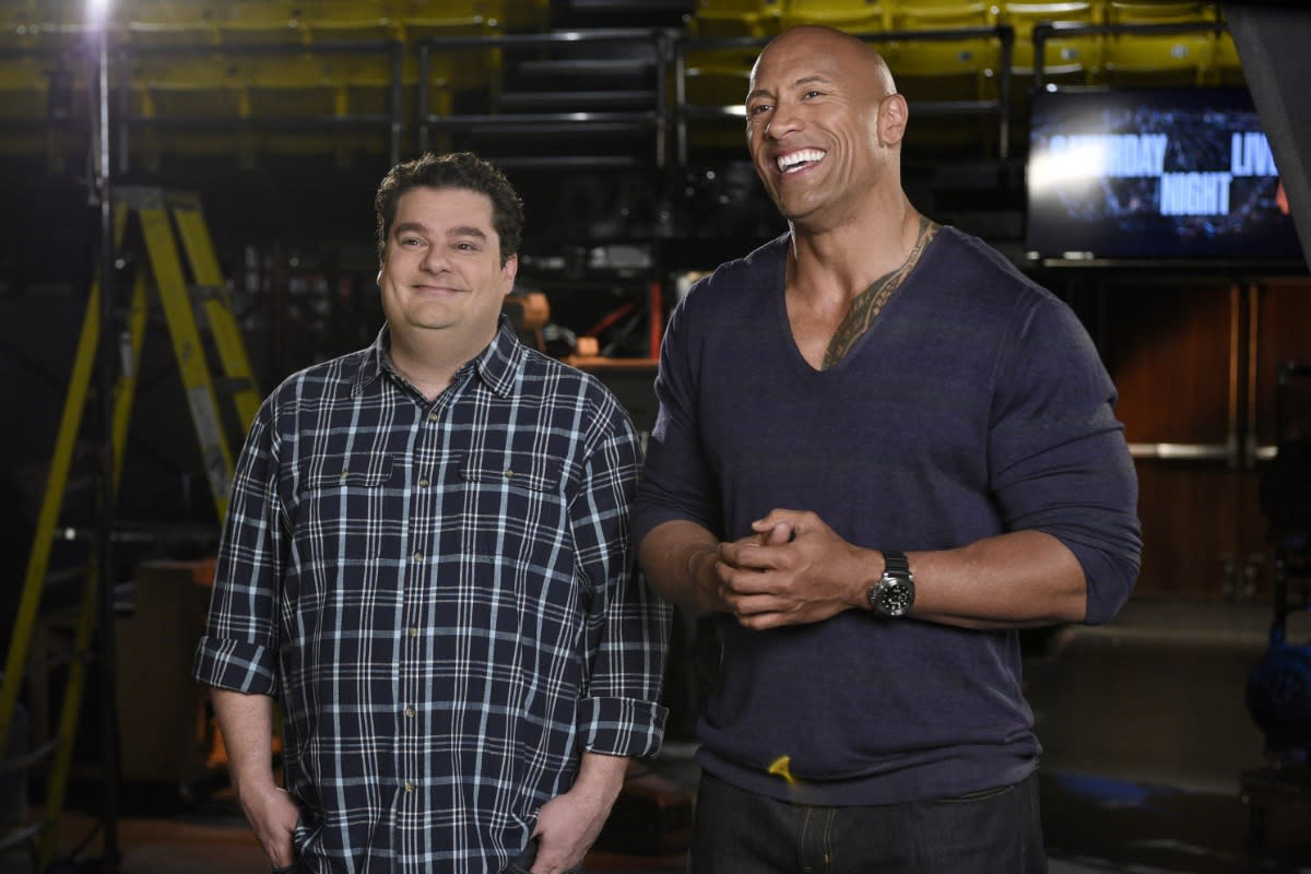 Recap: 'Saturday Night Live' – Dwayne Johnson and George Ezra