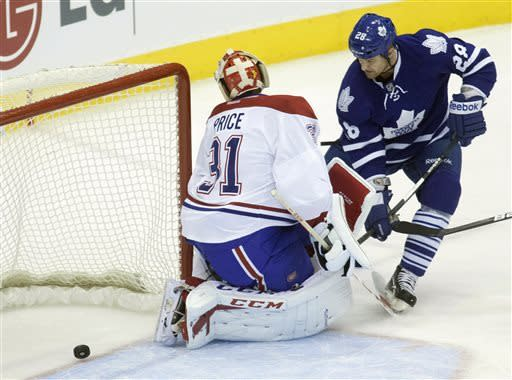 Maple Leafs chase Price early, beat Canadiens 5-1