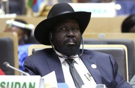 South Sudan's President Kiir attends the opening ceremony of the Ordinary session of the Assembly of Heads of State and Government of the AU at the African Union headquarters in Addis Ababa