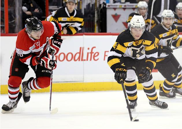 Kingston Frontenacs v Ottawa 67s