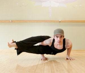New York yoga teacher Carlos Rodriguez --