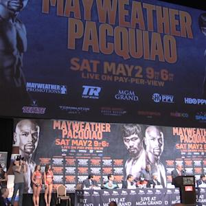 Mayweather - Pacquiao press conference highlights