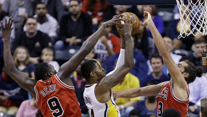 Perfect Pacers pull away from Bulls for 97-80 win