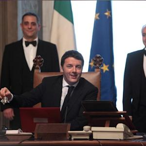 Italy's New Leader Says Creating Jobs His Priority