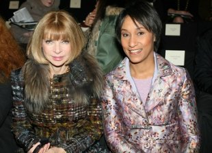 DNC-donor Anna Wintour and Desiree Rogers