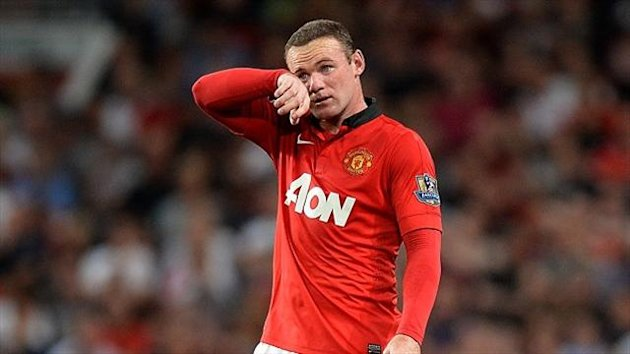Wayne Rooney collided with Phil Jones in training last week