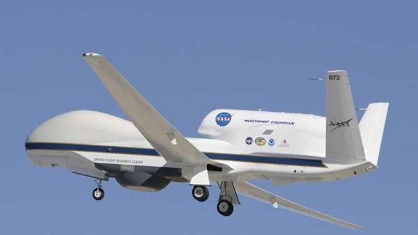 Unmanned Drones to Fly into Hurricanes