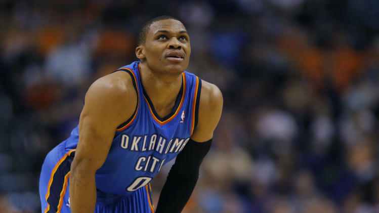 Westbrook rests, Sefolosha returns for Thunder