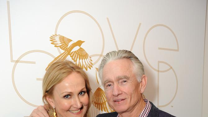 """IMAGE DISTRIBUTED FOR LOVEGOLD - Sally Morrison and Ian Telfer attend LoveGold/EJAF Celebrate """"How to Survive a Plague"""" at Chateau Marmont on February 22, 2013 in Los Angeles. (Photo by Jordan Strauss/Invision for LoveGold/AP Images)"""
