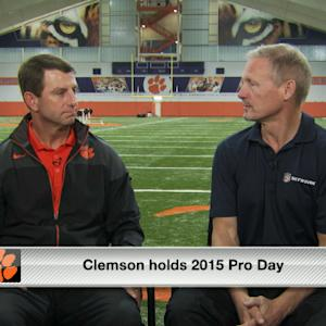 Dabo Swinney on Vic Beasley's NFL prospects