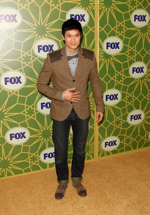Harry Shum Jr. (&quot;Glee&quot;) attends the 2012 Fox Winter TCA All-Star Party at Castle Green on January 8, 2012 in Pasadena, California. 