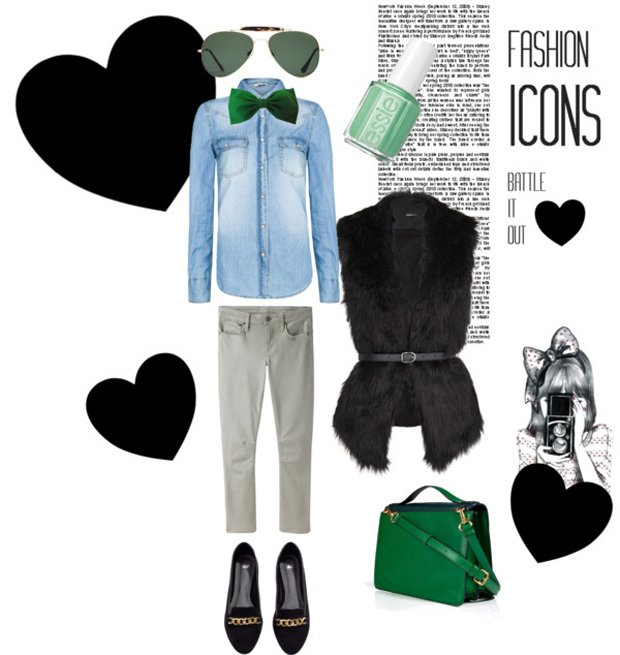 papillon-da-donna-ecco-come-look-casuaL