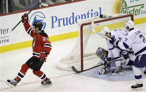 Devils match season high with 6 goals vs. Bolts