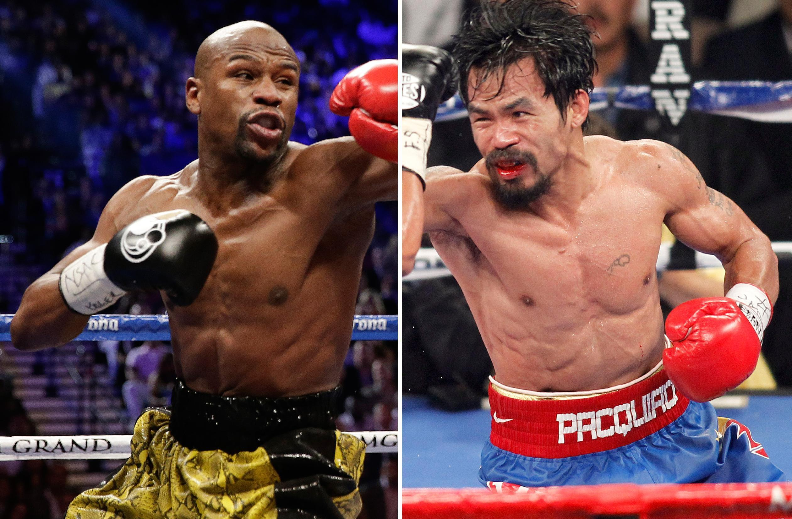 2 weeks before Mayweather-Pacquiao, not a ticket to be seen