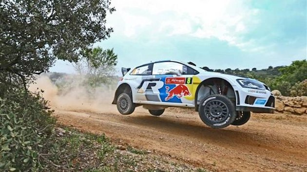 Sebastien Ogier in action in Portugal (Imago)