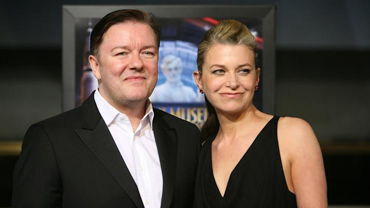 Night at the Museum 2 DC Premiere 2009 Ricky Gervais Jane Fallon