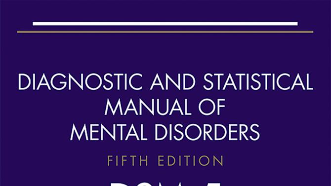 """This undated image shows the cover of the revised American Psychiatric Association's guidebook of mental disorders being released in May 2013. It is the manual's first major update in nearly 20 years, but prominent critics say the APA is out of control, turning common human problems into mental illness in a trend they say will just make the """"pop-a-pill"""" culture worse. (AP Photo/American Psychiatric Association)"""