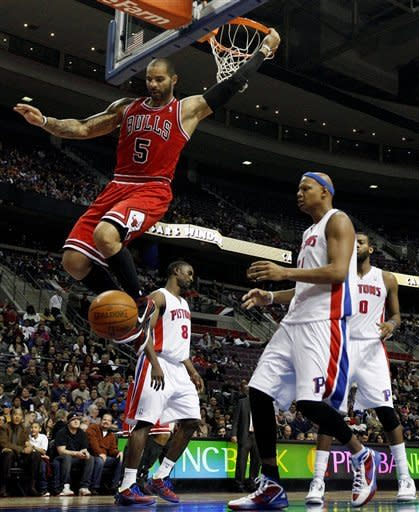 Bulls beat Pistons 99-83 in Hamilton's return