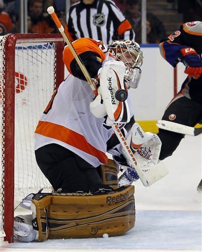 Flyers beat Islanders for 26th time in 28 games