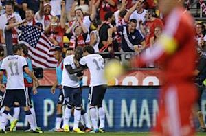 Eddie Johnson pays off for the USA once again