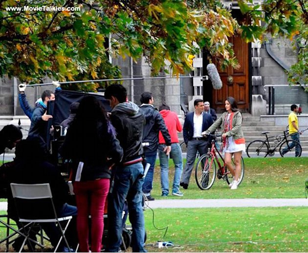 On location: Salman, Katrina