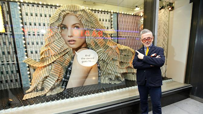 Simon Doonan And NEXXUS Create Window Display At Duane Reade In Tribute To The 2013 Tony Awards