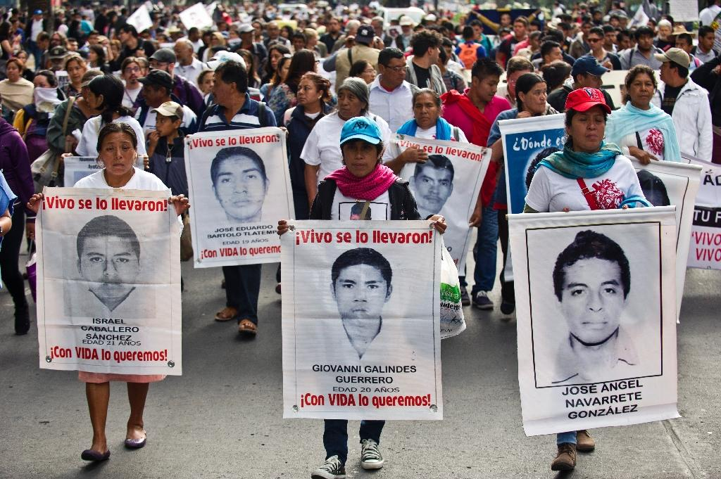 Experts ask for Mexico to check new leads in 43 missing case