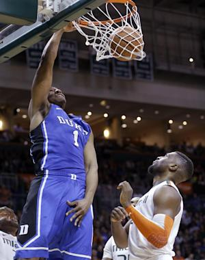 No. 18 Duke beats Miami 67-46
