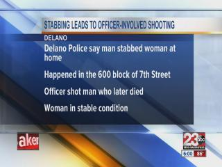 Stabbing leads to police officer-involved shooting