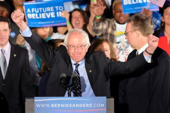 Bernie Sanders wins N.H. handily, as Democrats settle in for a long race