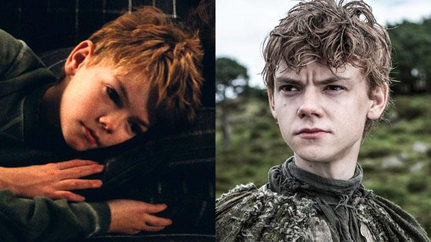 "Thomas Brodie-Sangster in ""Love, Actually"" and Season 3 of ""Game of Thrones."""