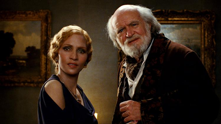 "This film image released by Warner Bros. Pictures shows Halle Berry, left, and Jim Broadbent in a scene from ""Cloud Atlas,"" an epic spanning centuries and genres. (AP Photo/Warner Bros. Pictures, Reiner Bajo)"