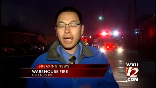 Greensboro warehouse damaged in Friday fire