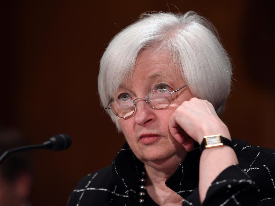 YELLEN: The stock market sell-off is not the Fed's fault