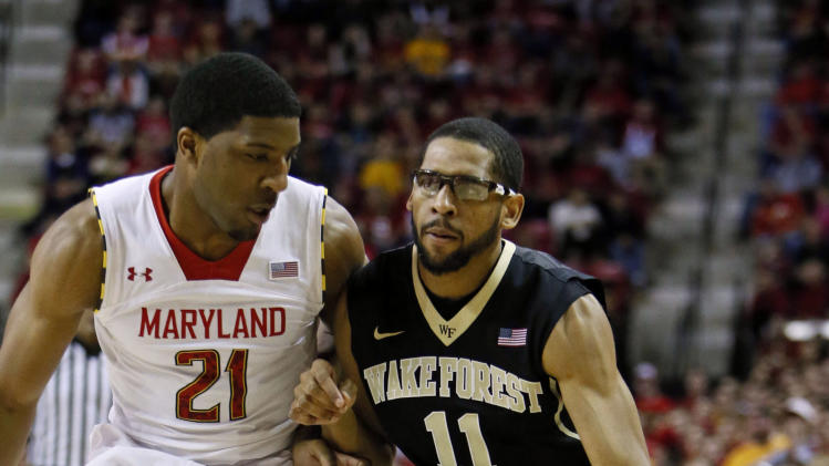 NCAA Basketball: Wake Forest at Maryland