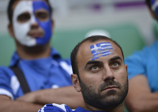 Greek Fans AFP/Getty Imag …