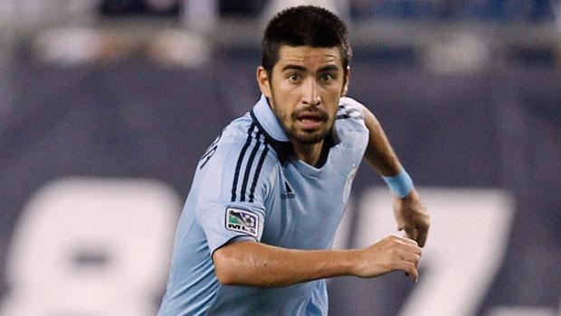After returning from injury, Sporting KC midfielder Paulo Nagamura brought back missing element