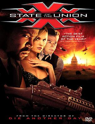 The DVD box art for Columbia Pictures' XXX: State of the Union