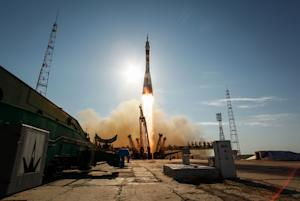 New US-Russian Crew Arrives at Space Station