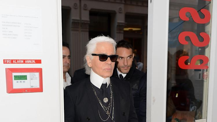 Melissa + Karl Lagerfeld Launch Event