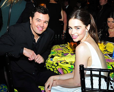 Seth McFarlane Dating Game of Thrones' Emilia Clarke!