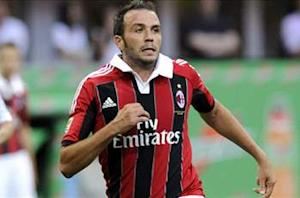 Bologna 1-3 AC Milan: Pazzini hat trick sees off stubborn host