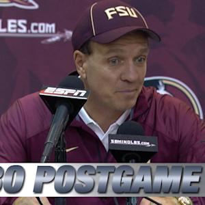 Jimbo Fisher Expects Tough Games