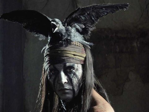 johnny depp the lone ranger