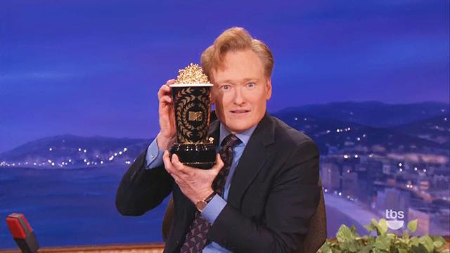 Conan Makes Big Announcement