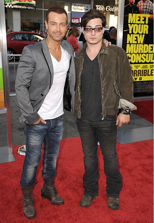Horrible Bosses 2011 LA Premiere Joey Lawrence Andrew Lawrence