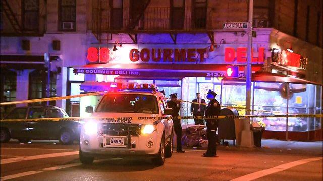 Surveillance footage shows man gunned down on NYC streets